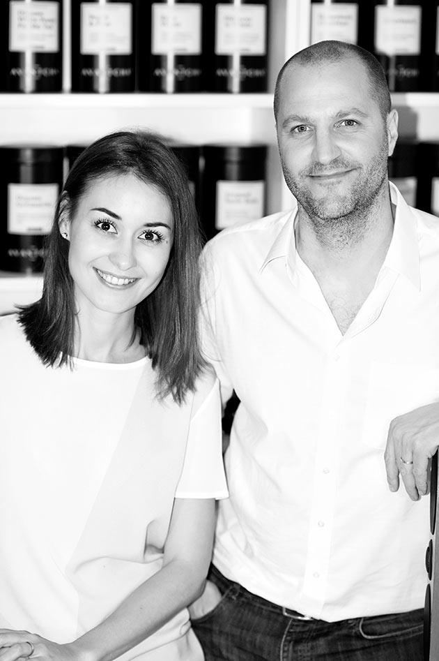 Markus and Marina, founders of Avantcha