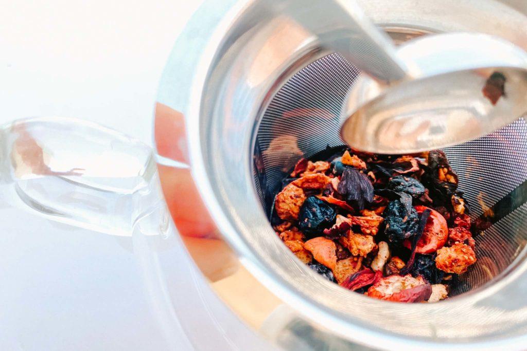 Rush Hour Berry iced tea