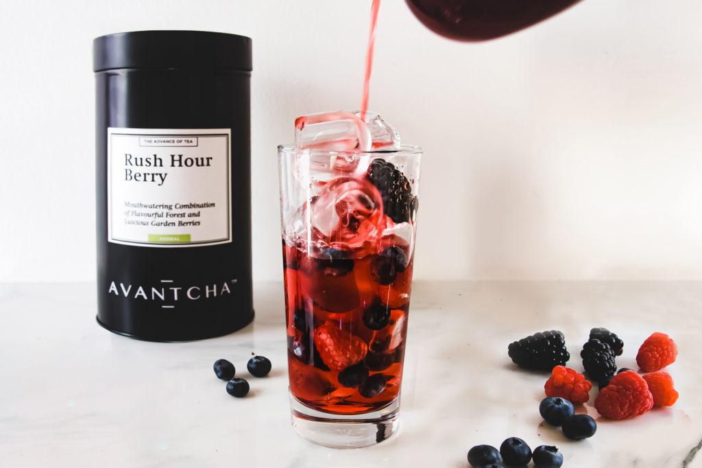 How to make Rush Hour Berry iced tea