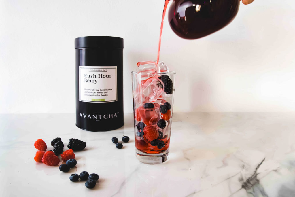 Rush Hour Berry iced tea step 2