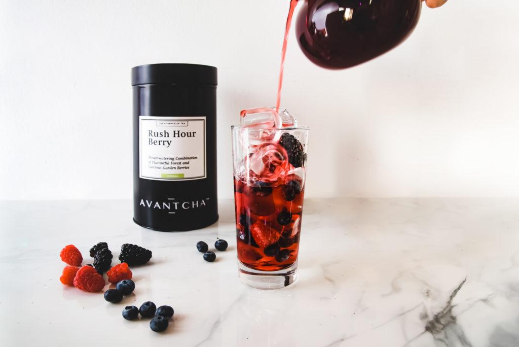 Rush Hour Berry iced tea step 3